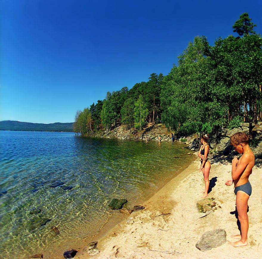 озеро Тургояк Челябинская область