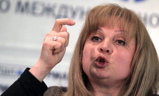 Элла Панфилова Центральная избирательная комиссия