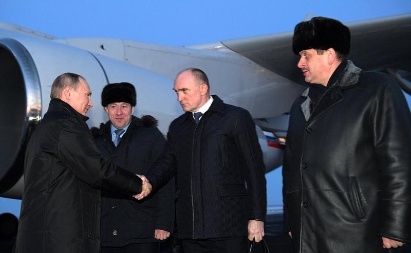 Путин в Челябинске