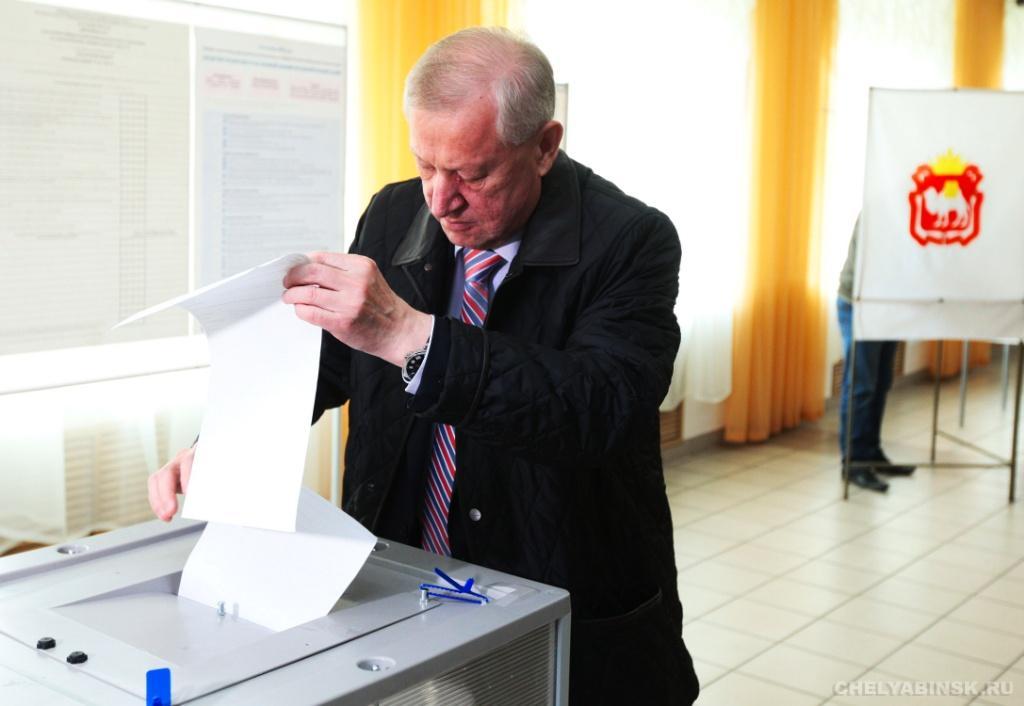 Губернатор Челябинской области проголосовал навыборах в Государственную думу