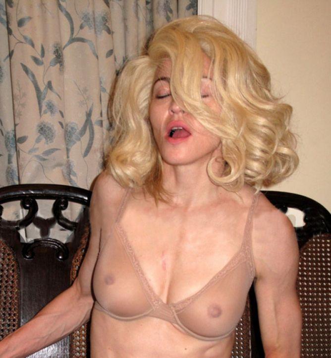Мадонна снималась в порно