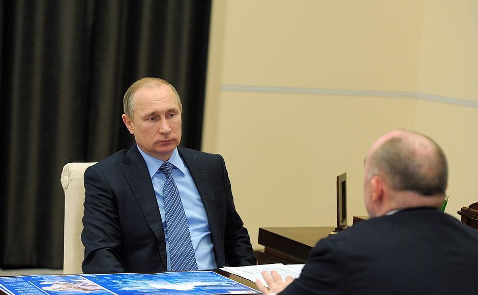 встреча Путина и Дубровского