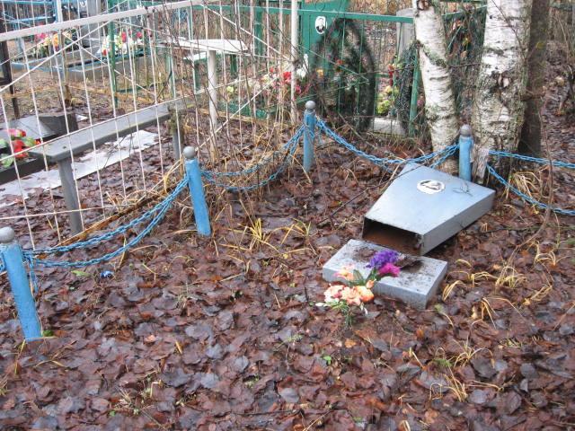 осквернение кладбища
