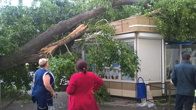 Челябинск ураган 3 июля 2017