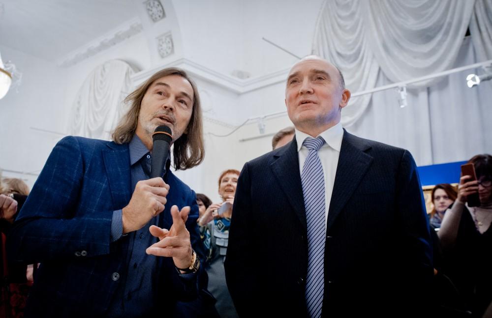 Никас Сафронов нарисует Бориса Дубровского