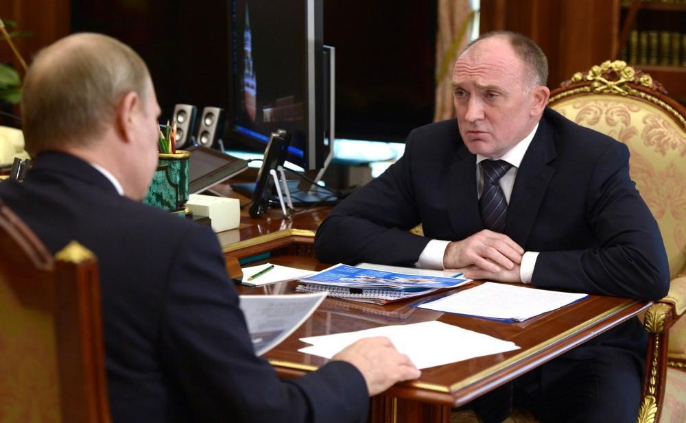 встреча Путина и Дубровского 24 08 2015