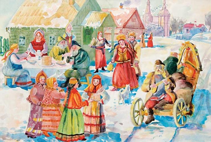 Народные традиции и праздники новый год и