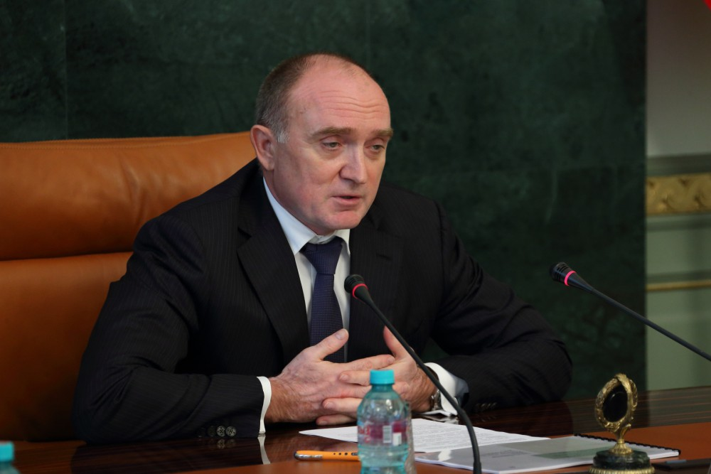 губернатор Челябинской области Борис Дубровский