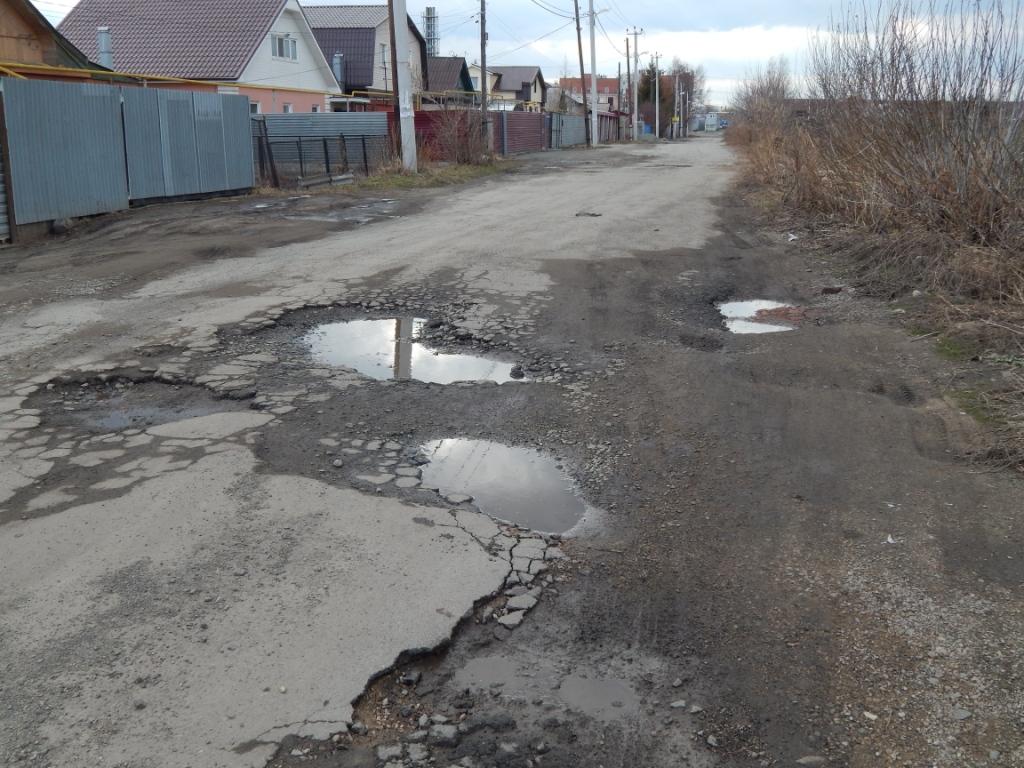 ямы на дороге