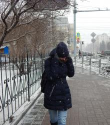 зима ветер