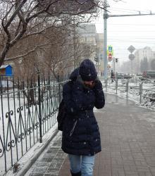зима морозы