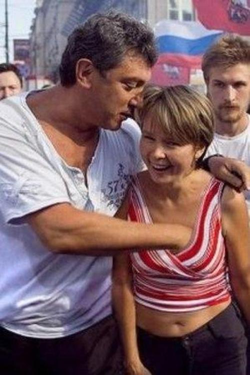 Немцов и химкинский лес