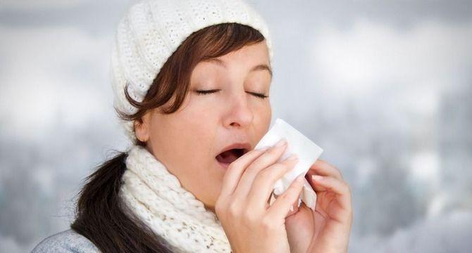 чихание грипп
