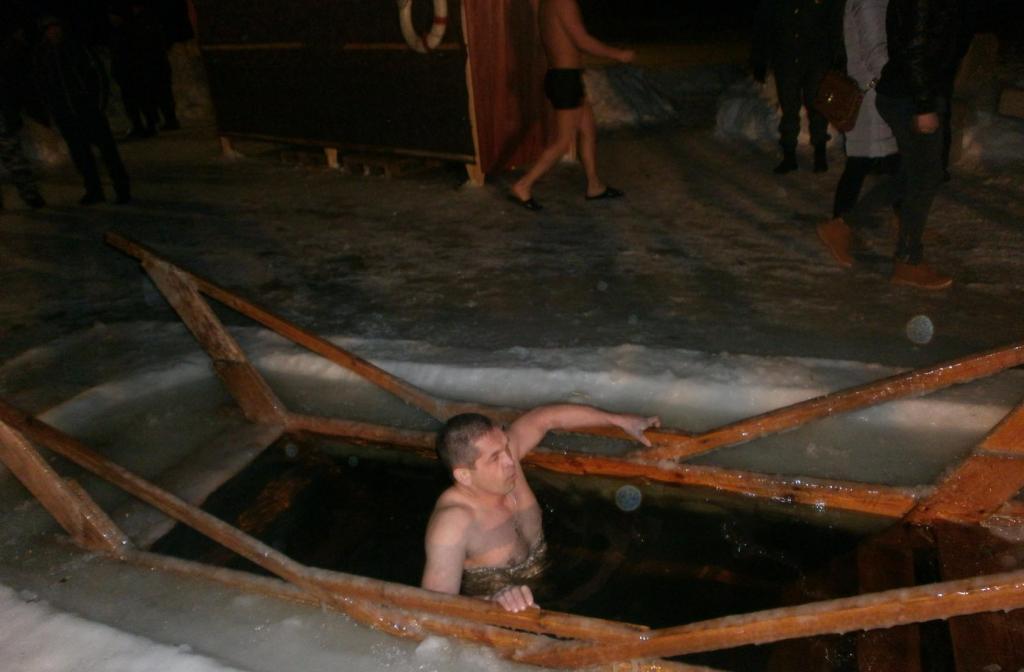 крещение купель