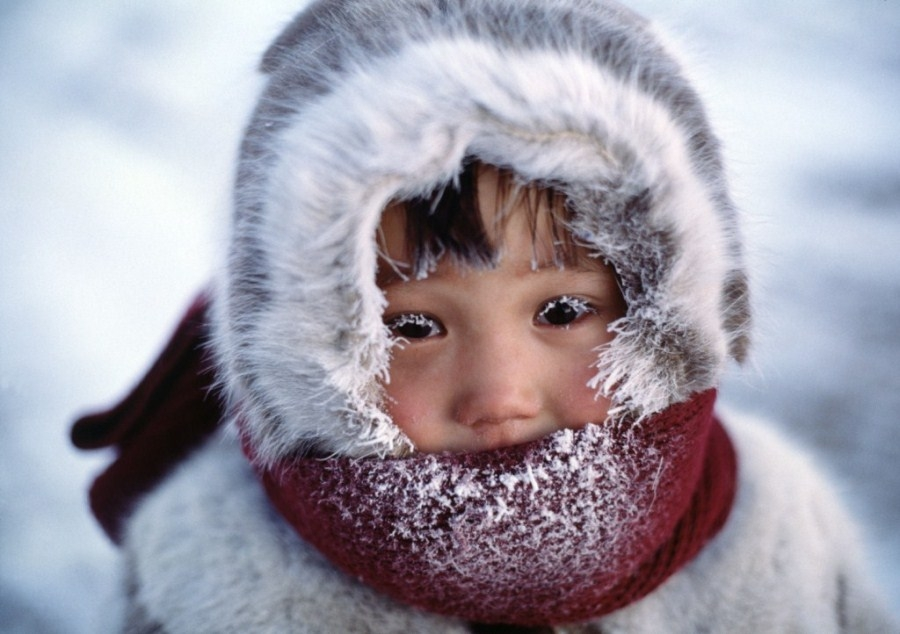 мальчик замёрз