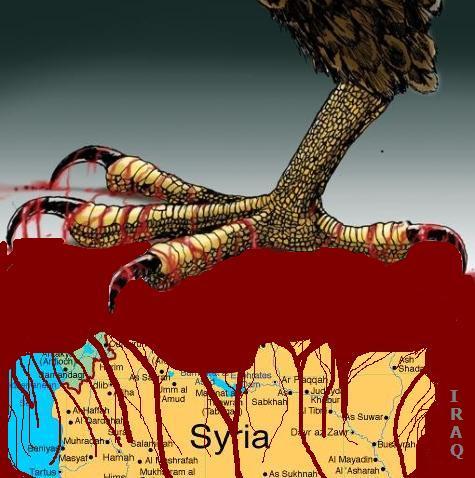 атака на Сирию