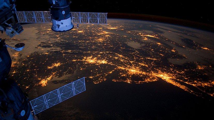 Челябинск из космоса