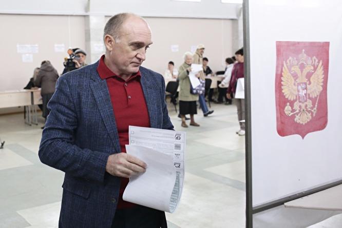 Губернатор Борис Дубровский проголосовал навыборах в Госдуму